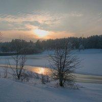 Зимний вечер. :: Геннадий Порохов