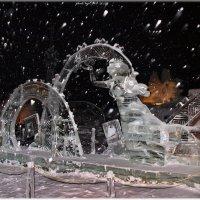 ледяная скульптура 2011 Чебоксары :: Юрий Ефимов
