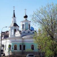 Крестовоздвиженская церковь на Чистом вражке :: Сергей Беличев