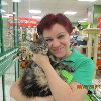 Я с котёнком. :: Зинаида