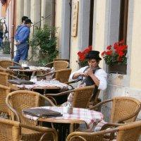 Городские кафе ... Ротенбург-на-Таубере :: Алёна Савина