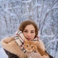 Белоснежная зима :: Ирина Демидова