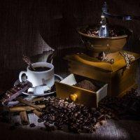 Кофейный аромат :: Анна Лютикова