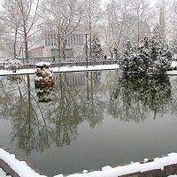 Салгир  зимний :: Валентин Семчишин