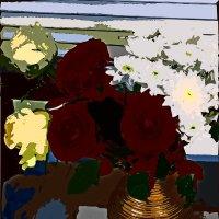 Этюд с цветами 21 :: Елена Куприянова