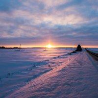Январский закат :: Dimirtyi