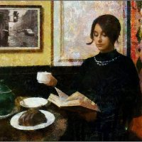 My magic Petersburg_03239 «Девушка с книгой» :: Станислав Лебединский