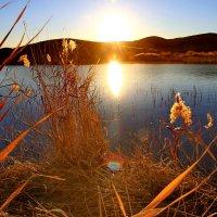 Озеро Танабай. Рассвет. :: Штрек Надежда