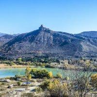 Слияние рек Арагви и Куры. Монастырь Джвари :: Лариса Батурова