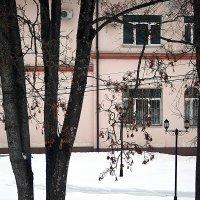 на фоне розового дома. :: Любовь