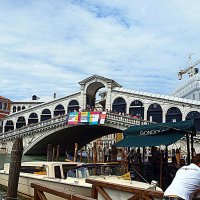 Венеция. Гранд - Канал. Мост Риальто. :: Владимир Драгунский