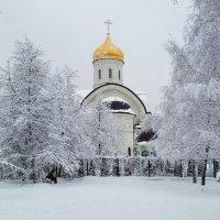 Храм Преподобной Евфросинии, великой княгини Московской в Котловке :: Константин Анисимов