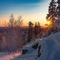 Солнце зимнее встает :: vladimir Bormotov