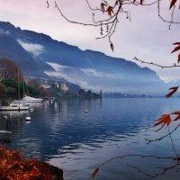 зима в обрамлении осени :: Elena Wymann