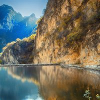 Небесное озеро :: Дмитрий Кудрявцев