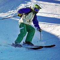 Лыжник :: Nina Streapan
