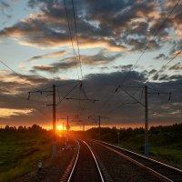 Россия из окна поезда :: Алексей Некрасов