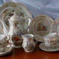 Любимый чайный сервиз. Oscar Schlegelmilch Германия :: Надежд@ Шавенкова