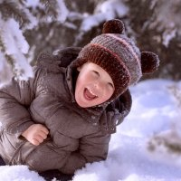 Зимние забавы :: Милада Шестопалова