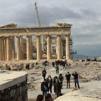 индустриальный пейзаж   Греция, Афины :: Ирина Чернова