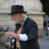 Уличный музыкант Пинта :: ZNatasha -