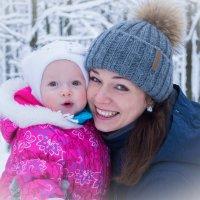 Мама и дочь :: Андрей Резюкин