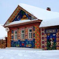 Частичка радуги в снегу... :: Нэля Лысенко