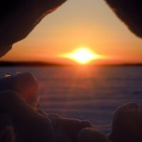 Зимний закат :: Анна Суханова