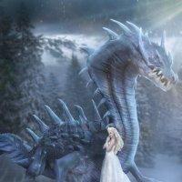 Ледяной дракон :: Натали Кудланова