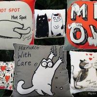 Для тех, кто и спать не может без котиков ) :: Тамара Бедай