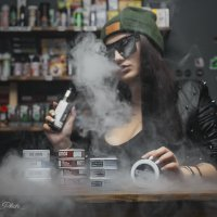 Vape-girl :: Мария Миронова