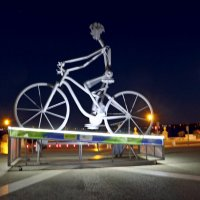 Инсталляция на площади Лиссабона :: Ольга