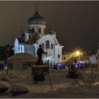 Вид на храм во имя святителя Николая Чудотворца :: Александр Максимов