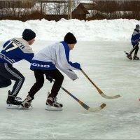 Хоккей.  23 февраля. :: Валентин Кузьмин