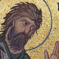 Иоанн Креститель-древняя мозаика в монастыре :: Наталия Григорьева