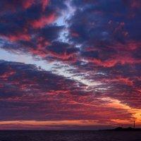Февральский закат :: Александр Довгий