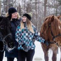 """Любовь и лошади"" :: Ирина Кузина"