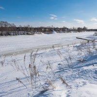 Февральский день на реке Дубне. :: Виктор Евстратов