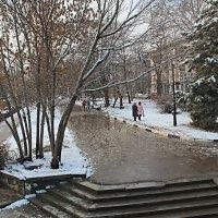 Тает снег :: Валентин Семчишин