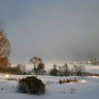 А зима не спешит уходить... :: Евгений Юрков