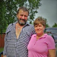 Семья из деревни Филисово :: Валерий Талашов