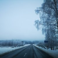 А зима, всё так и не уходит... :: Инга Энгель