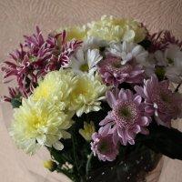 Цветы в букете :: Олег Афанасьевич Сергеев