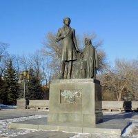А.С. Пушкин и няня. :: Евгений Алябьев