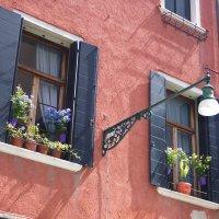 Нарядные оконца дома в Венеции. :: Лира Цафф
