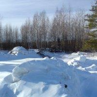 лучистый снег :: Владимир