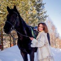 Любовь и лошади. :: Ирина Кузина
