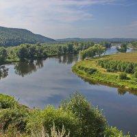 Безмятежность равнинной реки :: val-isaew2010 Валерий Исаев