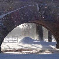 Метель в Пушкине :: Елена