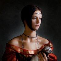 """""""Дама с горностаем"""" :: Юлия Ляшенко"""